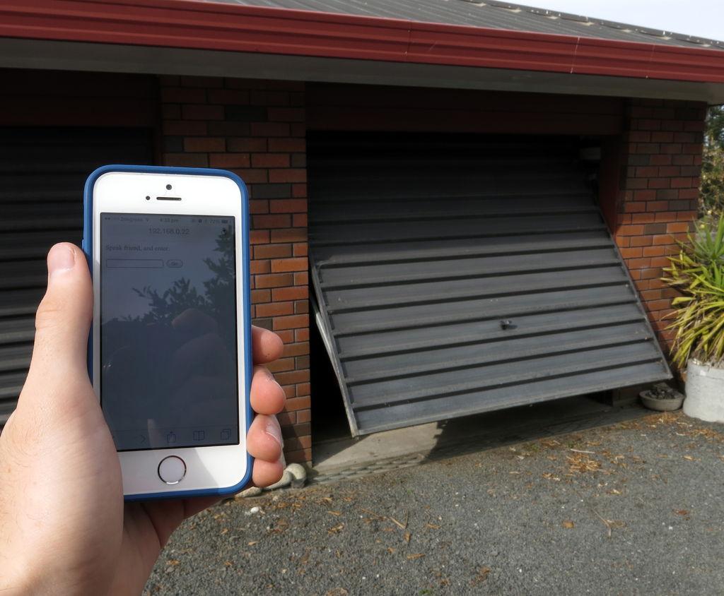 Open Your Garage Door Using Your Smartphone Superhouse Automation