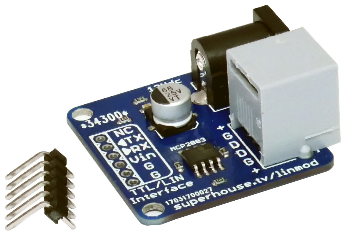 Lin Bus Serial Adapter Module Superhouse Automation